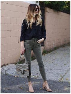 **** Get your first Stitch Fix delivered today!  Digging this play on olive, black and nude. Loving this color combination! Will work well for Spring transition.  Stitch Fix Spring, Stitch Fix Summer, Stitch Fix Fall 2016 2017. Stitch Fix Spring Summer Fall Fashion. #StitchFix #Affiliate #StitchFixInfluencer