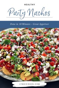 Healthy Nachos Recipe Healthy Nachos Recipe Kim Caris kimcaris Lyndi Cohen Need to make quick party appetizer? Short on ideas time? Try […] lunch sides Healthy Recipes On A Budget, Healthy Meals For Two, Healthy Dinner Recipes, Simple Recipes, Healthy Kids, Healthy Nachos, Vegetarian Nachos, Vegetarian Recipes, Cheap Clean Eating