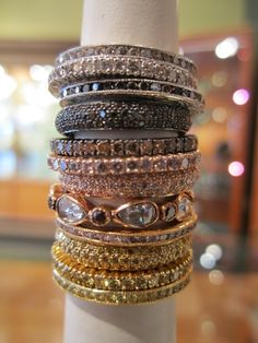 love stackable rings right now
