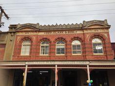 Shopping arcade 1872, Barker Street, Castlemaine.