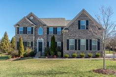 Love the exterior of this home in Harrisburg, NC! Leigh Brown & Associates | www.leighsells.com