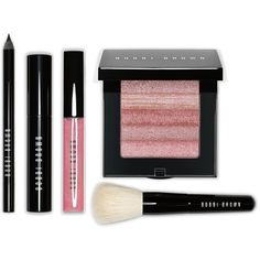 Bobbi Brown Exclusive Instant Pretty Kit ($80) ❤ liked on Polyvore featuring beauty products, makeup, beauty and assorted