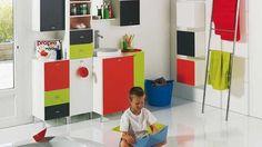puertas de mueble de dif colores