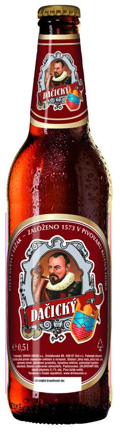 Pivovar Kutna Hora - Dacicky Tmave Vycepni 3,8% pullo