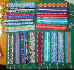 Wristlet Key Chain Fobs  Ready to Go and by ThisNThatHodgePodge, $4.00