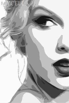 33 New ideas pop art portraits Pop Art Portraits, Portrait Art, Painting Portraits, Pencil Portrait, Arte Pop, Foto Face, Vector Portrait, Cross Paintings, Oil Paintings