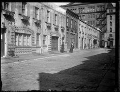 Washington Mews. Date: 1916 - 1921