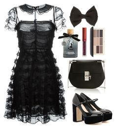 """Untitled #208"" by natafu ❤ liked on Polyvore featuring beauty, Torrid, RED Valentino, Miu Miu, Chloé, LASplash and H&M"