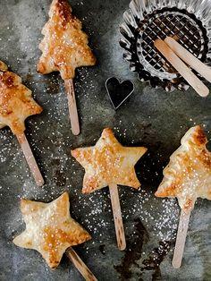 Dolcini di Natale in pasta sfoglia - idea regalo