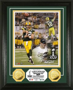 Must have product now available: Green Bay Packers... Get it here! http://www.757sc.com/products/green-bay-packers-super-bowl-xlv-mvp-24kt-gold-coin-photo-mint-hm?utm_campaign=social_autopilot&utm_source=pin&utm_medium=pin
