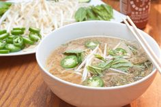 Crock Pot Chicken Pho - let your slow cooker do the work for you all day!