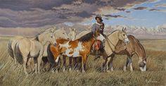 AC - CON EL AGUA EN LOS TALONES Rio Grande Do Sul, Equine Art, Pretty Horses, Horse Art, Western Art, Country Life, Cowboys, Westerns, Native American