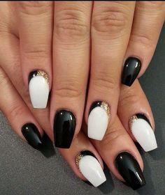 #Black #White #Sliver  #Glitter