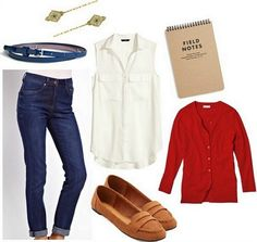 Looks from Books: Nancy Drew - College Fashion