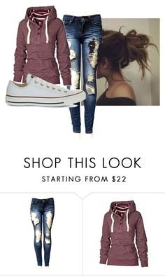 """""""Untitled #2065"""" by looking-fly ❤ liked on Polyvore featuring Converse"""