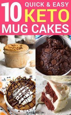 Easy Keto Mug Cake Recipes