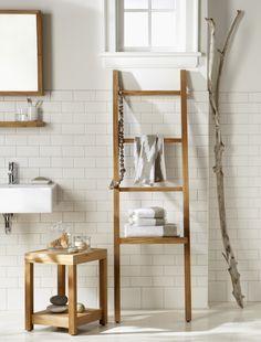 Banheiros práticos e charmosos - Aproveite as paredes - Revista Westwing