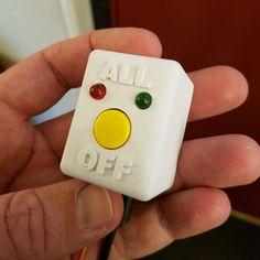 WeMos D1 Mini Button Shield Box