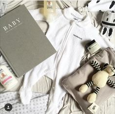 Beautiful baby gift by Harlow Handmade using GAIA products. #gaia #gaiaskincare #gaianaturalababy #babygifts #newborngifts
