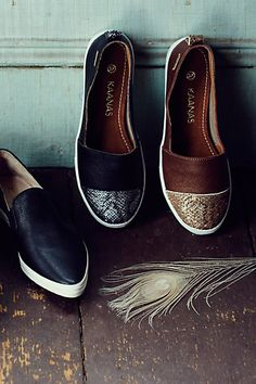 Kaanas Serengeti Python Sneakers - anthropologie.com
