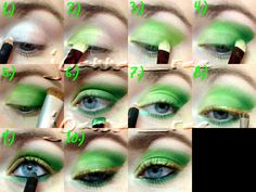 St. Patrick's Day Makeup *CLICK ON PIC, TO BE TAKEN TO BEAUTYLISH, FOR STEP BY STEP INSTUCTIONS*