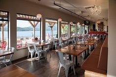 Cargo Kitchen & Bar in Prince Rupert, BC Conference Room, Prince, Bar, Kitchen, Table, Furniture, Home Decor, Cuisine, Homemade Home Decor