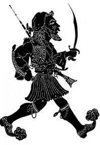 Αποτέλεσμα εικόνας για θέατρο σκιών, Shadow Theater, Samurai, Darth Vader, Fictional Characters, Shadow Play, Fantasy Characters, Samurai Warrior