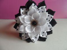 Ободок с Цветком на Первое Сентября / Headband with flower on the First ...