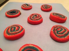 Red, White, and Blue Swirl Cookies -- Food ramblings