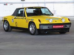 My Dream Car, Dream Cars, Porsche 914 6, P Words, Yellow Car, Fast Cars, Vintage Cars, Cool Cars, Automobile