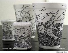 The Lucrative Foam Cup Cartoons Of Cheeming Boey [Art]
