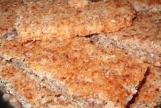 To Revise for THM: Coconut Almond Granola Bar Awesomeness | VegWeb.com, The World's Largest Collection of Vegetarian Recipes