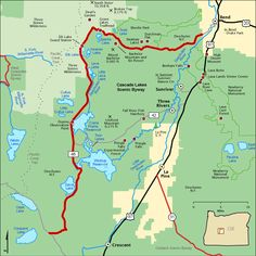 Starting mapping Little Deschutes in the South near #Crescent, to the north to #Deschutes River and up to Lava Lake with the Reservoirs and many streams & La Pine SP