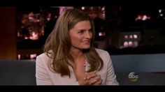 Stana Katic - Jimmy Kimmel Live (Feb. 16, 2015)