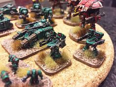 More Epic 30k fun!      My  third submission stays with the 30k theme and setting, but switches  scales.  These are for Epic, GW's excelle...