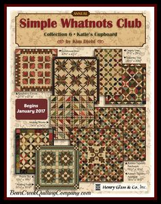 Simple Whatnots Club - Collection 6 by Kim Dieh for Henry Glass & Co., Inc.