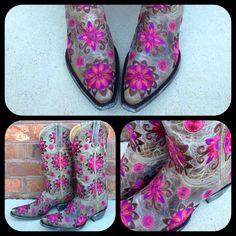 Old Gringo Cojin Bone Cowgirl Boots L1369-4 at RiverTrail in North Carolina. #cowgirlboots #oldgringoboots