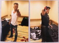 "Norman Reedus & Sean Patrick Flanery Signed ""Boondock Saints"" Replica Pistol (Radtke COA) at PristineAuction.com"