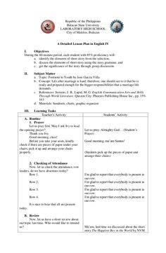 detailed lesson plan in english grade 4 short story 4a's Lesson Plan, Lesson Plan Format, Lesson Plan Examples, English Lesson Plans, Reading Lesson Plans, Daily Lesson Plan, Science Lesson Plans, Teacher Lesson Plans, Kindergarten Lesson Plans