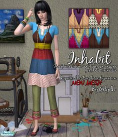gelydh's Inhabit - Bohemian Teen Outfits Converted for Adults