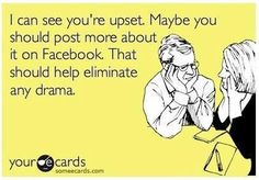 """HA HA HA HA PEOPLE WHO DO THIS BOTHER ME TO NO END !! !! WHY !!??!!?? WHY DO THAT IT MAKES NO SENSE. NO ONE WANTS TO SEE OR HEAR THAT SO WHY POST IT FOR ALL 100 OF YOUR """" Friends """". They DON'T CARE !! If you feel the need to do this just go buy a journal. It will make the world a better place."""