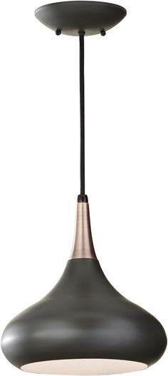 """0-034948>10""""""""w Beso 1-Light Mini Pendant Dark Bronze"""