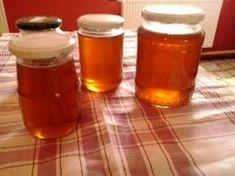 Sladučký agátový med Korn, Salsa, Honey, Pudding, Homemade, Health, Desserts, Gardening, Syrup