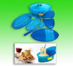 Контейнер для приготовления макарон в микроволновой печи Pasta n More