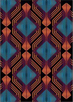 Textile Pattern Design, Textile Patterns, Textile Prints, Pattern Art, African Fabric, African Art, African Textiles, African Design, Graphic Patterns