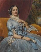 Caroline Freifrau von Gumppenberg, Gräfin von Bayrstorff (1816-1889) von Joseph Karl Stieler