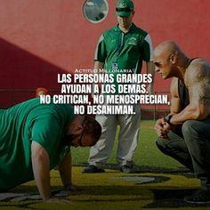 "3,008 Me gusta, 14 comentarios - ACTITUD MILLONARIA © (@actitudmillonaria) en Instagram: ""Verdadero Líder #ActitudMillonaria"""