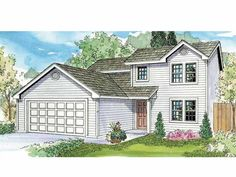 Eplans Contemporary-Modern House Plan - Four-Bedroom Contemporary - 1471 Square Feet and 4 Bedrooms from Eplans - House Plan Code HWEPL68539