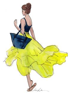 aplaceforart:    parachute skirt by inslee