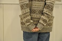 I love these faded, natural colours for fair isle - just perfect [acoustics1F]